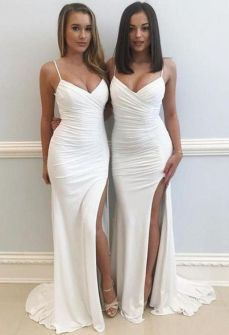 40 Bridesmaid with Mermaid Dresses to Copy Ideas 3