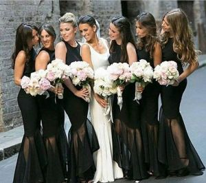 40 Bridesmaid with Mermaid Dresses to Copy Ideas 39