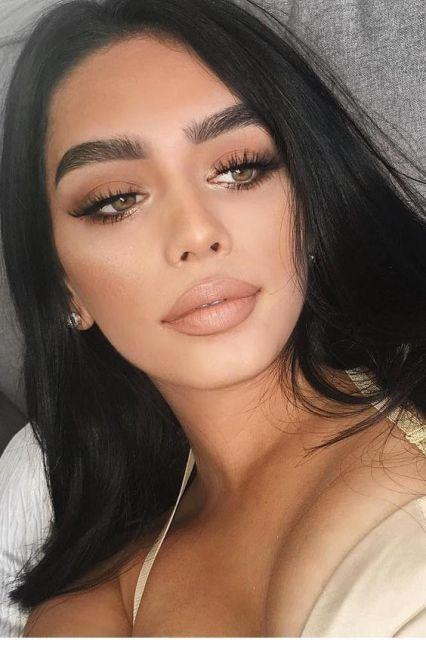 40 Brown Eyes Simple Makeup Ideas 8
