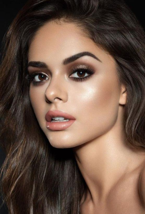 40 Brown Eyes Simple Makeup Ideas 9