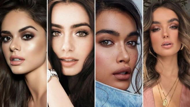 40 Brown Eyes Simple Makeup Ideas