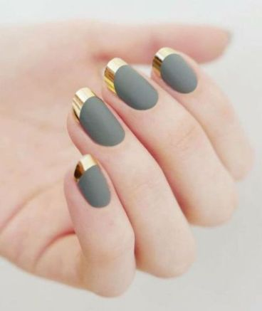 40 Chic Green Nail Art Ideas 17