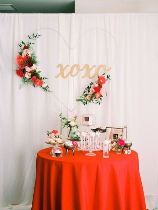 40 Chic Valentine Party Decoration Ideas 26
