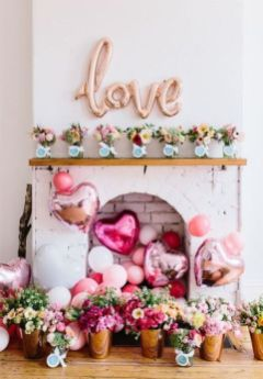 40 Chic Valentine Party Decoration Ideas 8
