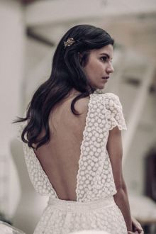 40 Deep V Open Back Wedding Dresses Ideas 35