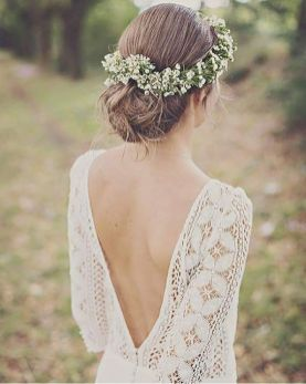 40 Deep V Open Back Wedding Dresses Ideas 36