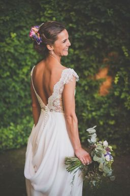 40 Deep V Open Back Wedding Dresses Ideas 41