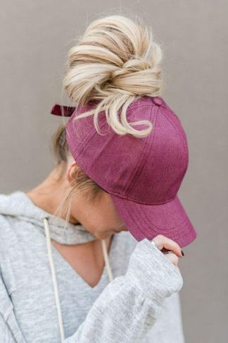 40 High Messy Bun Hairstyles Ideas 19