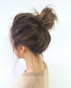 40 High Messy Bun Hairstyles Ideas 2