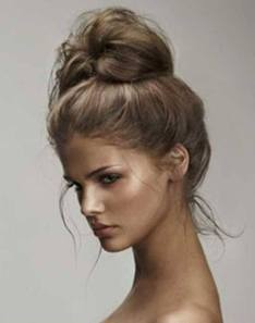 40 High Messy Bun Hairstyles Ideas 4
