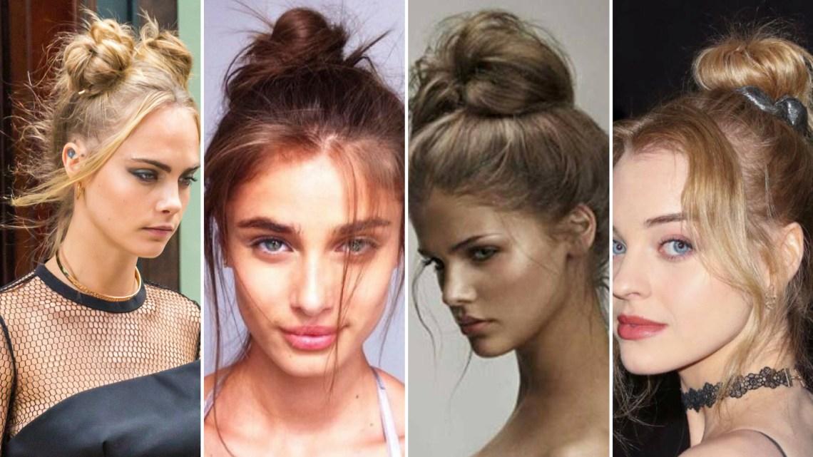 40 High Messy Bun Hairstyles Ideas