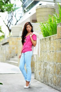40 Pink T Shirt Street Styles Ideas 24