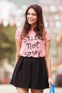 40 Pink T Shirt Street Styles Ideas 30