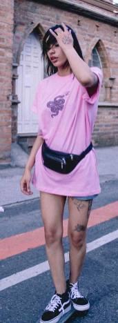 40 Pink T Shirt Street Styles Ideas 39