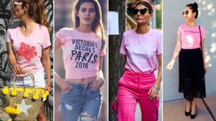40 Pink T Shirt Street Styles Ideas