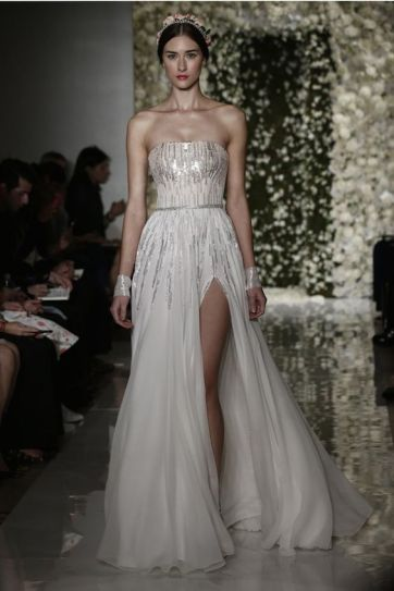 40 Shimmering Bridal Dresses Ideas 18