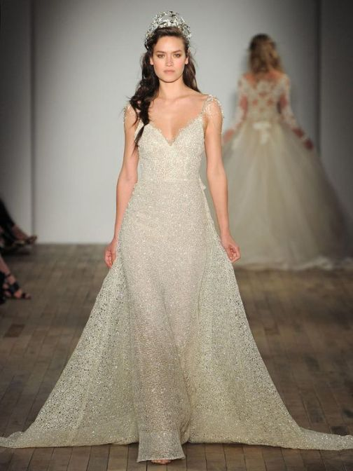 40 Shimmering Bridal Dresses Ideas 25