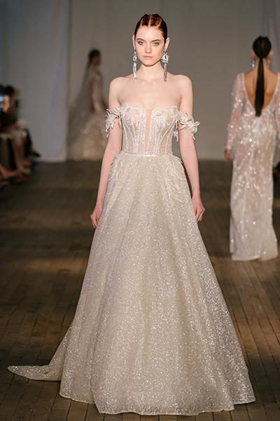 40 Shimmering Bridal Dresses Ideas 26