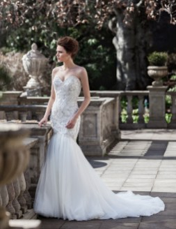 40 Shimmering Bridal Dresses Ideas 28