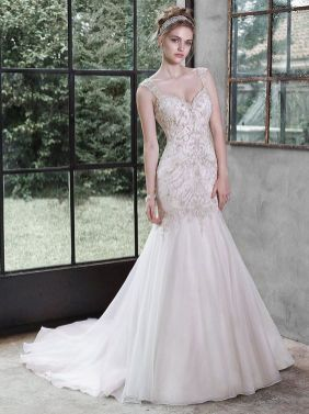 40 Shimmering Bridal Dresses Ideas 3