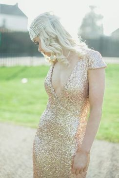 40 Shimmering Bridal Dresses Ideas 37