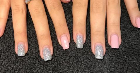 40 Simple Grey Nail Art Ideas 18 2