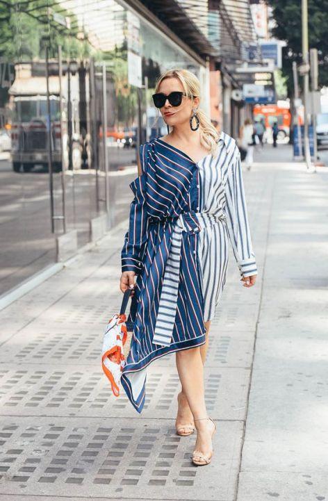 40 Stylish Asymmetric Dress Ideas 17