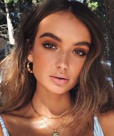 40 Summer Makeup Look Ideas 9