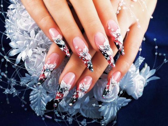 40 Unique 3D Nails Designs Ideas 20
