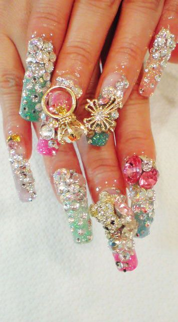 40 Unique 3D Nails Designs Ideas 22