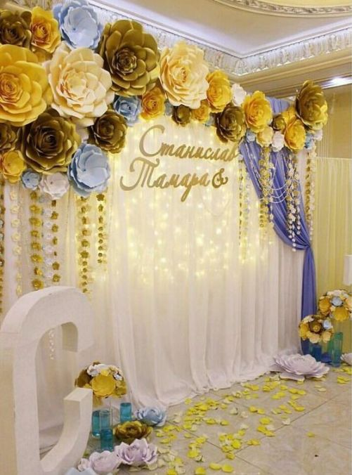 40 Ways to Use Paper Flowers At Your Wedding 2