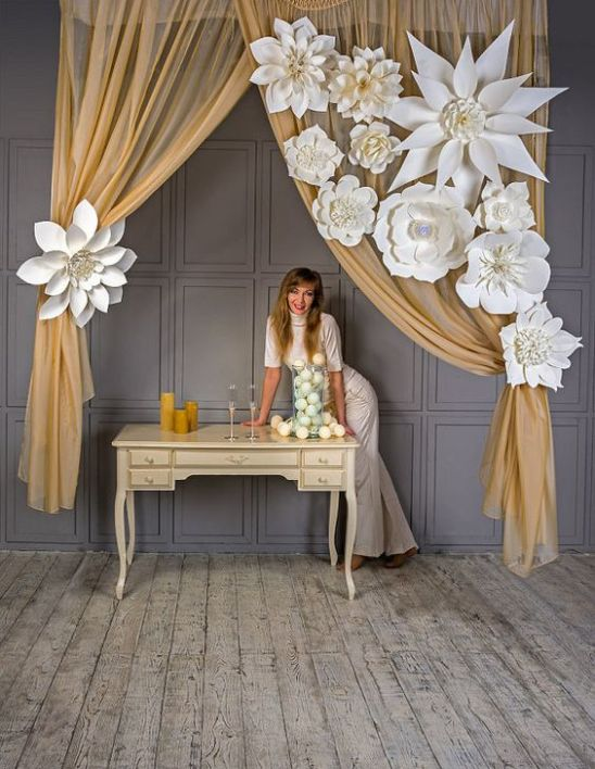 40 Ways to Use Paper Flowers At Your Wedding 4