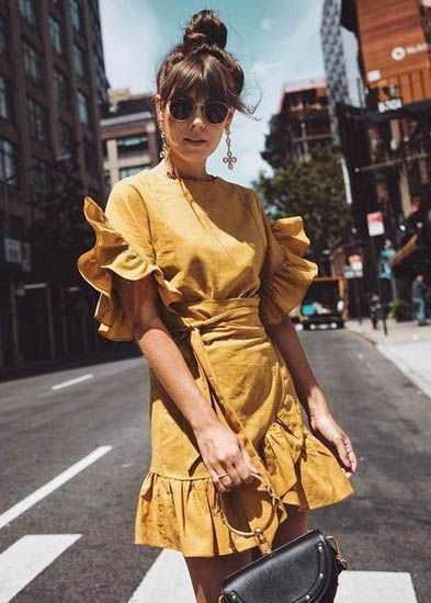 40 Yellow Outfits in Fashion Ideas 12