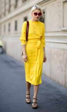 40 Yellow Outfits in Fashion Ideas 21
