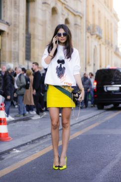 40 Yellow Outfits in Fashion Ideas 23