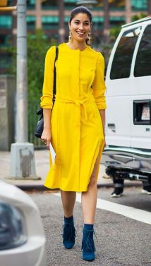 40 Yellow Outfits in Fashion Ideas 24