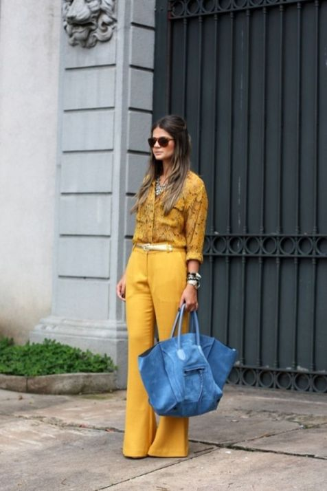 40 Yellow Outfits in Fashion Ideas 25