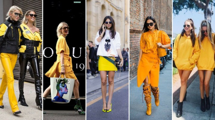 40 Yellow Outfits in Fashion Ideas