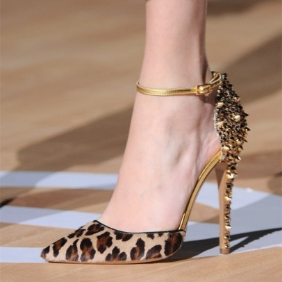 50 Animal Print High Heels Shoes Ideas 1