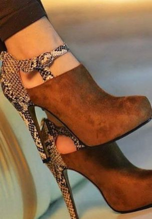 50 Animal Print High Heels Shoes Ideas 27