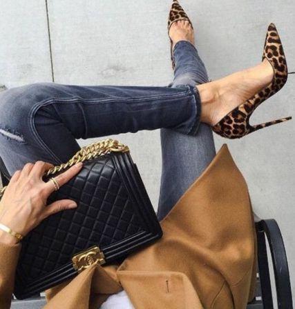 50 Animal Print High Heels Shoes Ideas 28