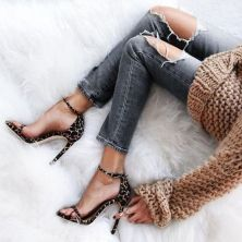 50 Animal Print High Heels Shoes Ideas 30