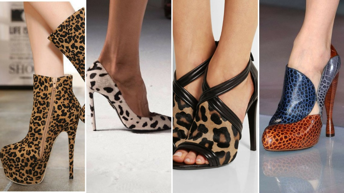 50 Animal Print High Heels Shoes Ideas