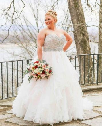 50 Ball Gown for Pluz Size Brides Ideas 1