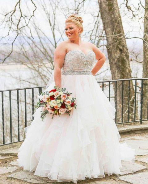 50 Ball Gown for Pluz Size Brides Ideas 1