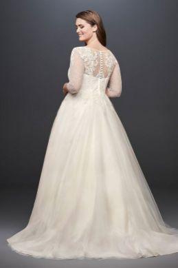 50 Ball Gown for Pluz Size Brides Ideas 24