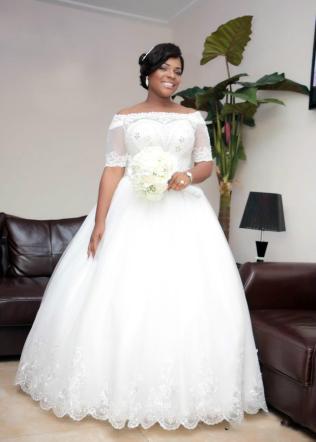 50 Ball Gown for Pluz Size Brides Ideas 33