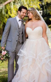 50 Ball Gown for Pluz Size Brides Ideas 42