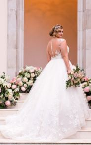 50 Ball Gown for Pluz Size Brides Ideas 7