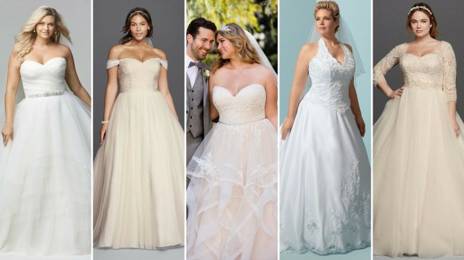 50 Ball Gown for Pluz Size Brides Ideas